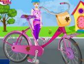 Barbie Bicicleta De Lavagem E Reparação