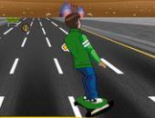 Ben 10 Skate Estrada