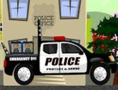 Caminhão da polícia ao vivo