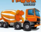 Caminhão De Cimento Estacionamento
