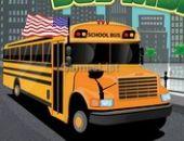 Campo de viagem de ônibus