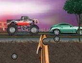 Caos caminhão urbana