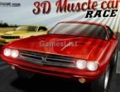 Carro de corrida muscular