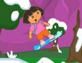 Dora Snowboard Jogo