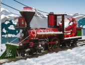 Entrega de Santa Locomotiva a Vapor