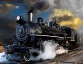 Entrega De Trem A Vapor