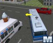 Escola Estacionamento Para Ônibus 3D