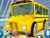 Escola Ônibus Lavagem De Carro