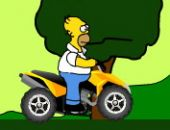 Homer ATV Jogo
