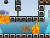 Hora de aventura Jogos: Flambo Inferno