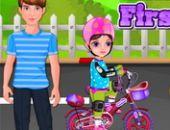Menina Primeira Bicicleta gratis jogo