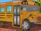 Minha Escola De Ônibus De Limpeza