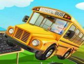Ônibus Escolar Frenzy Estacionamento
