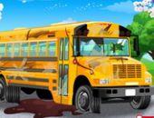 Ônibus Escolar Lavagem De Carro