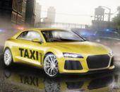 Nova Cidade De Motorista De Táxi