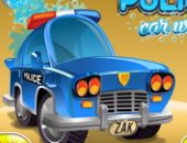 O Carro De Polícia Lavagem