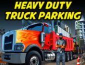Pesada Dever Caminhão Estacionamento