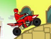 Power Rangers Dino Vermelho ATV