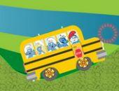 Smurfs Escola De Autocarro