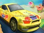 Spongebob automobilismo de velocidade