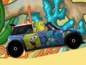 Spongebob motorista