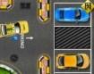 Táxi Amarelo De Táxi De Estacionamento
